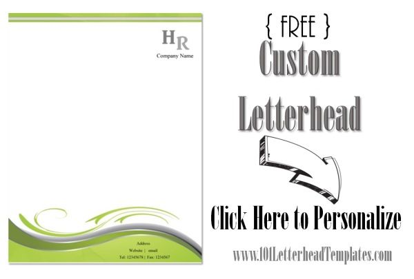 word letterhead template with logo - free company letterhead template