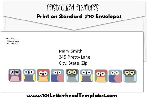 10 envelope size