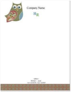 teacher letterhead