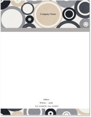 graphic design letterhead