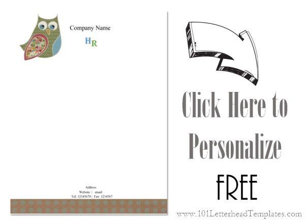 Free letterhead templates teacher letterhead free template spiritdancerdesigns Image collections