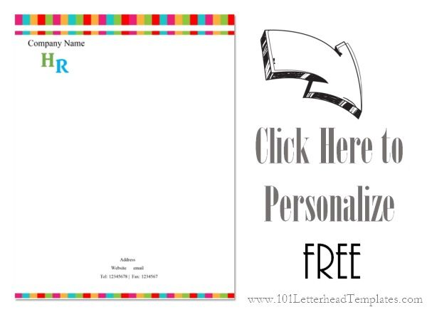 business letterhead templates with logo