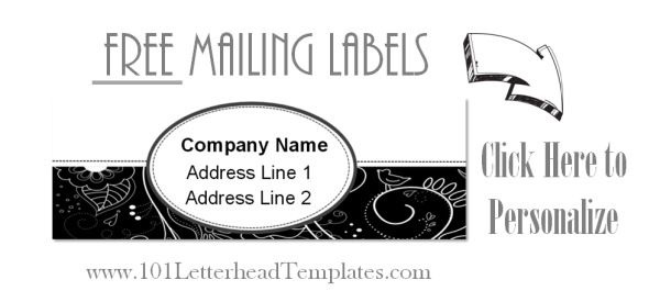 Avery mailing labels