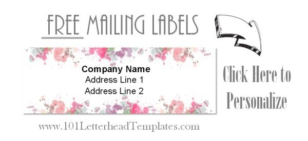 mail labels