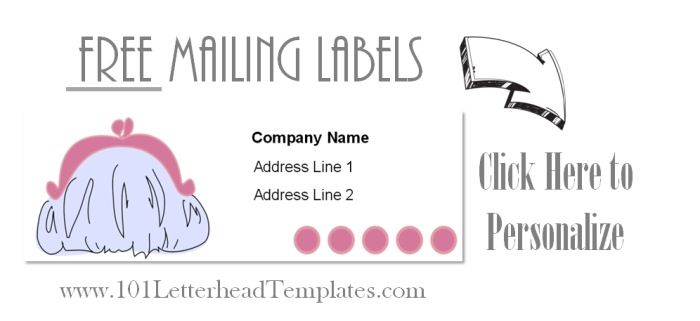 mail labels for women