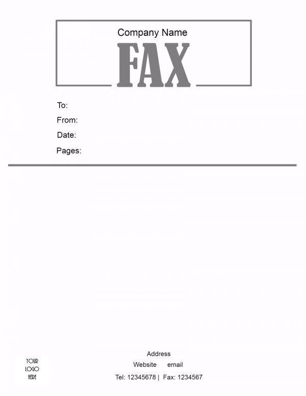 free fax cover sheet template, fax machine cover letter template, fax header template, on free fax letterhead template